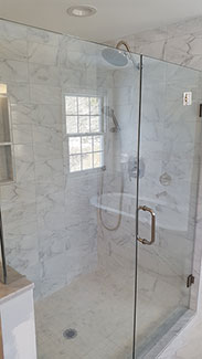 Shower Remodel Photo by West Chester PA Contractor
